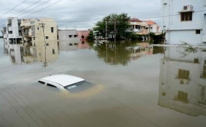 Наводнения в Индии 01 декабря 2015