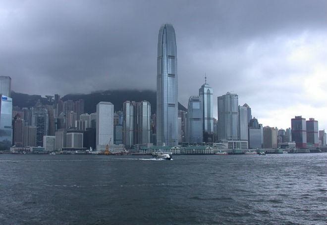 Тайфун в Китае 28 сентября 2015