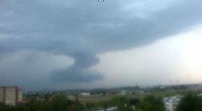Буря в Польше 26 июля 2015