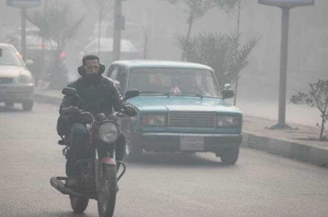 Смог в Египте 15 декабря 2015