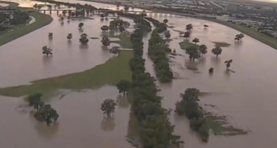 Наводнение в Техасе, США 27 ноября 2015