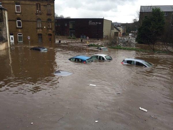 Наводнения в Великобритании 27 декабря 2015