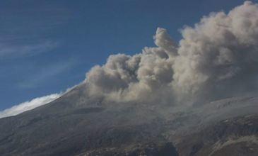 Активность вулкана в Колумбии 06 августа 2015