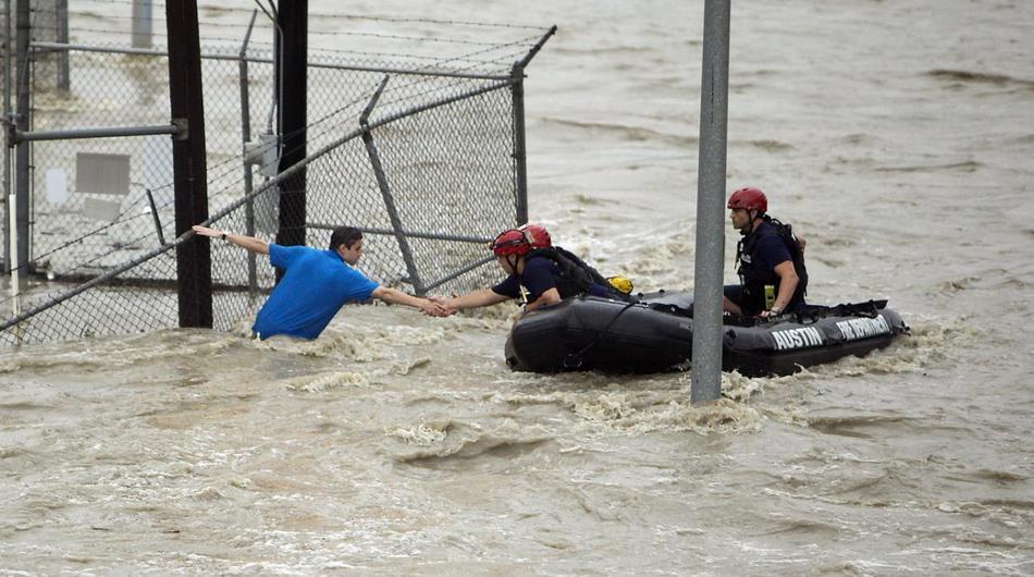 Шторм и наводнения на среднем западе США, май 2015