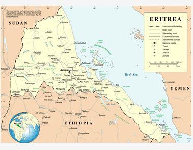Землетрясение в Эритрее 9 июня 2015