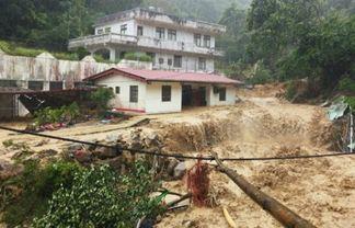 Тайфун Соуделор нанёс ущерб жителям Тайваня 10 августа 2015