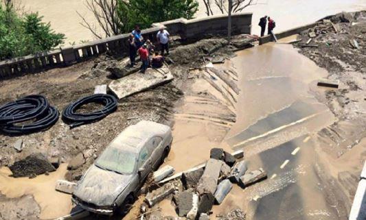 Наводнение в Тбилиси 14 июня 2015