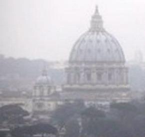 Загрязнение воздуха в Италии 24 января 2016