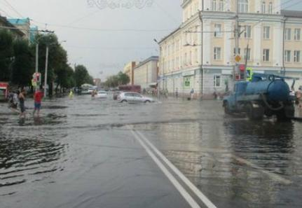 Шквалы в Белоруссии 13 августа 2015