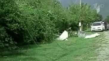 Ураган в  Грузии 12 сентября 2015