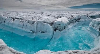 Разрушение ледового щита Ларсена в Антарктике