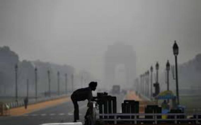 Загрязнение воздуха в Индии 08 декабря 2015