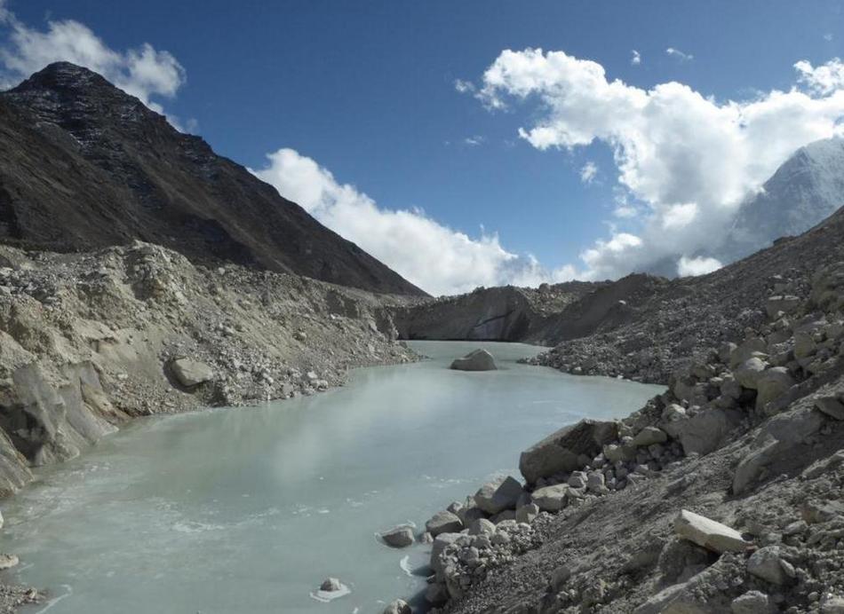 Таяние ледников в Гималаях 01 декабря 2015