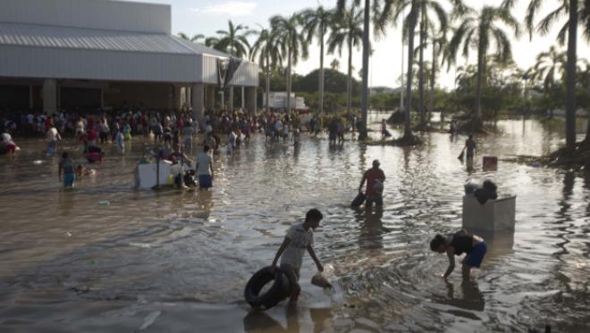 Наводнение в Мексики 20 октября 2015