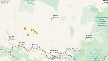 Землетрясение в Закарпатье (Украина), 19 июля 2015