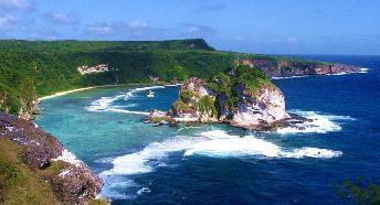 Землетрясение на Марианских острова 25 сентября 2015