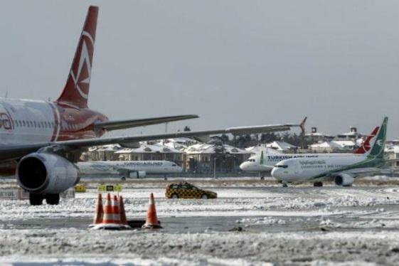 Снегопады в Турции 28 января 2016
