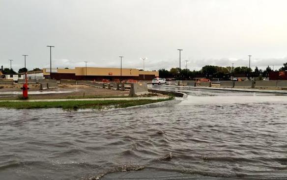 Наводнение в Канаде 22 августа 2015
