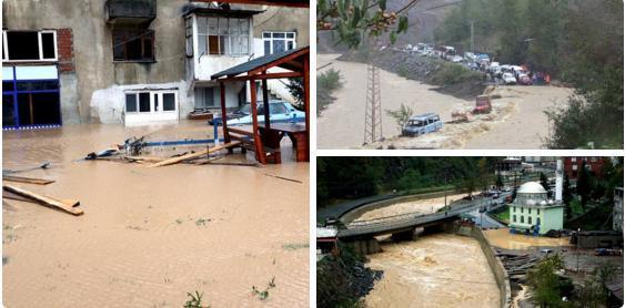 Наводнение в Турции 12 ноября 2015