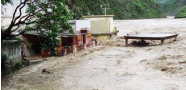 Наводнение в Индии 25 июня 2015