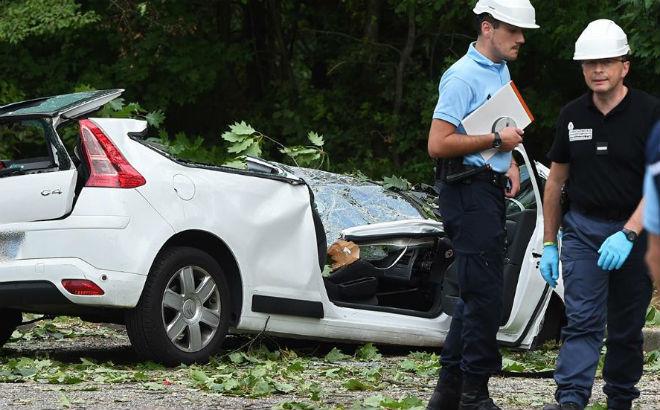 Ураган во Франции 16 сентября 2015