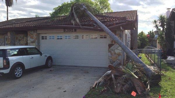 Торнадо в США 07 апреля 2016