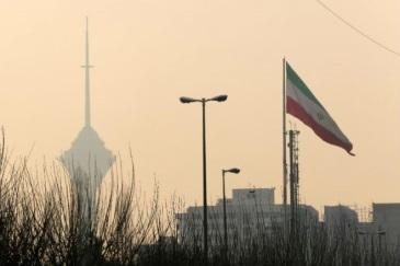 Загрязнение воздуха в Иране 21 декабря 2015