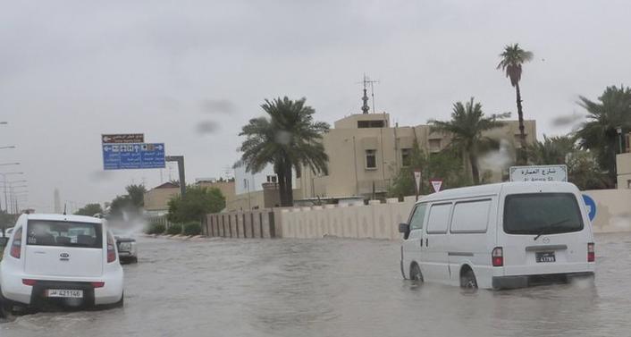 Наводнение в Катаре 25 ноября 2015