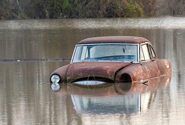 Наводнение  в США 31 декабря 2015