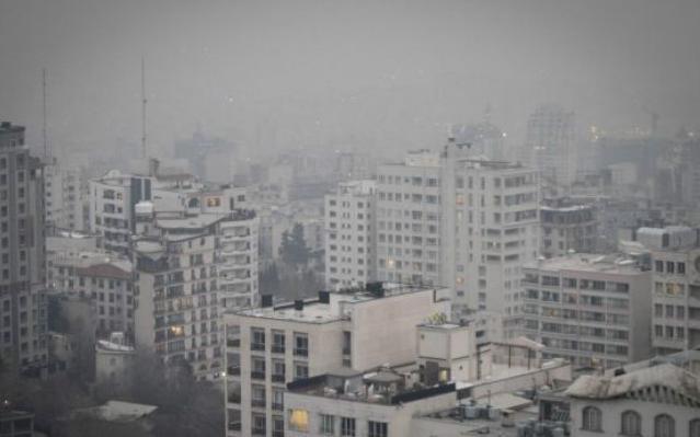Смог в Иране 17 декабря 2015