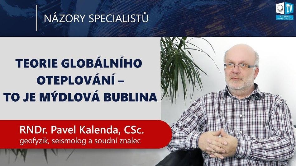 """""""Změna klimatu není dílem člověka."""" Pavel Kalenda o cykličnosti, vědě a prognózování"""