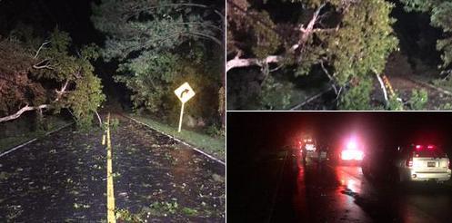 Торнадо в Южной Каролине 25 сентября 2015