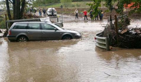 Наводнения в Италии 15 октября 2015