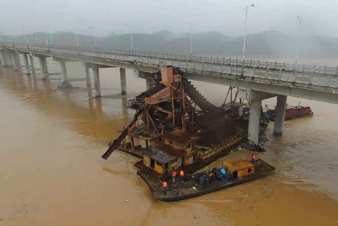 Наводнение в Китае 19 марта 2016