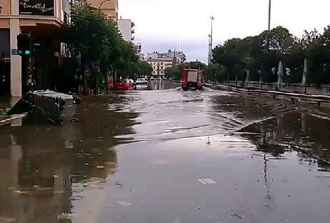 Наводнение в Греции 22 сентября 2015