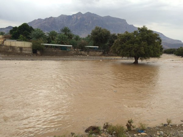 Наводнение в Омане 8 апреля 2016