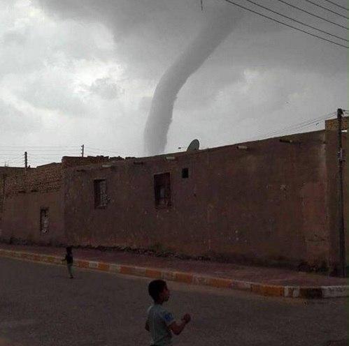 Торнадо в Ираке 14 апреля 2016