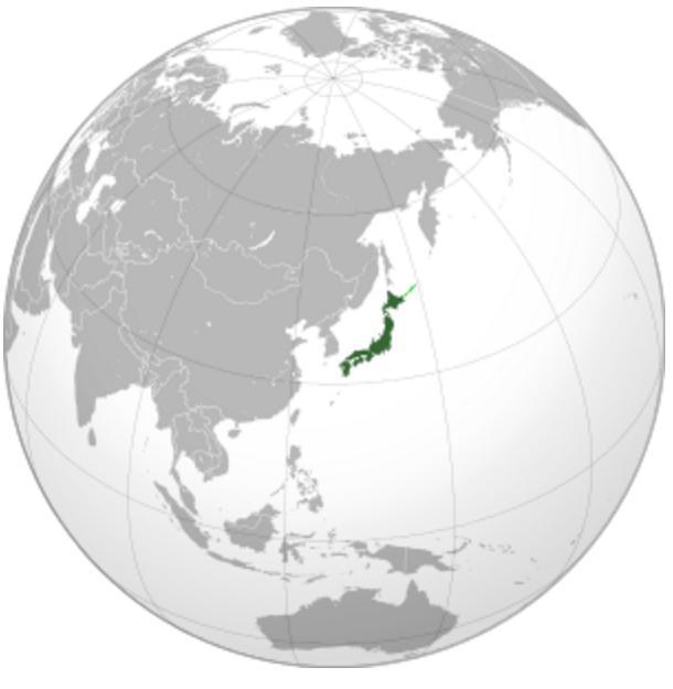 Землетрясение в Японии 09 января 2016
