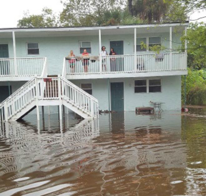 Наводнение в США 08 ноября 2015