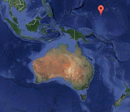 Землетрясение на Каролинских островах 11 ноября 2015