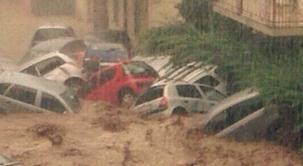 Шторм в Италии 12 августа 2015