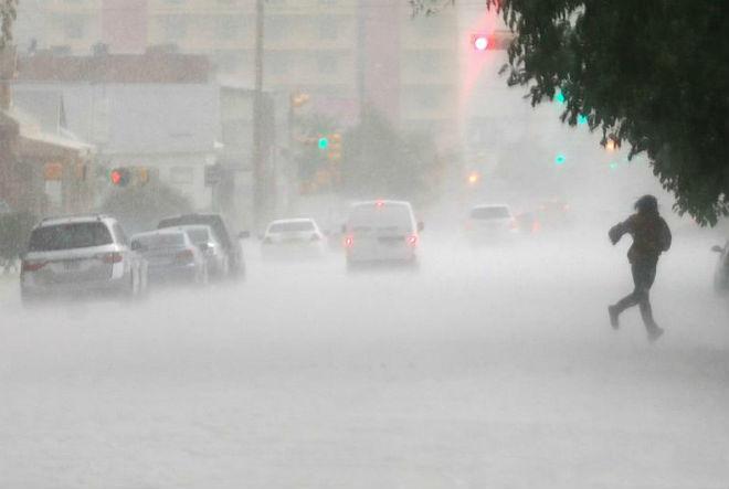 Наводнение в США 21 октября 2015
