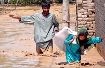 Наводнение в Афганистане 17 августа 2015