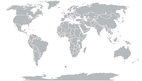 Землетрясение на острове Буве 23 декабря 2015
