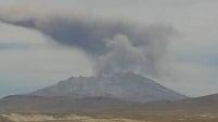 Извержение вулкана в Перу 15 января 2016