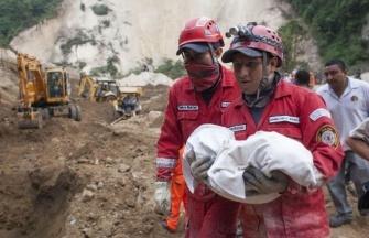 Оползень в Гватемале 01 октября 2015