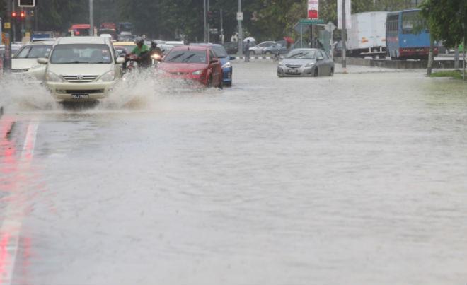 Наводнение в Малайзии 23 сентября 2015