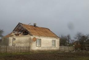 Буря в Закарпатье, Украина 30 ноября 2015