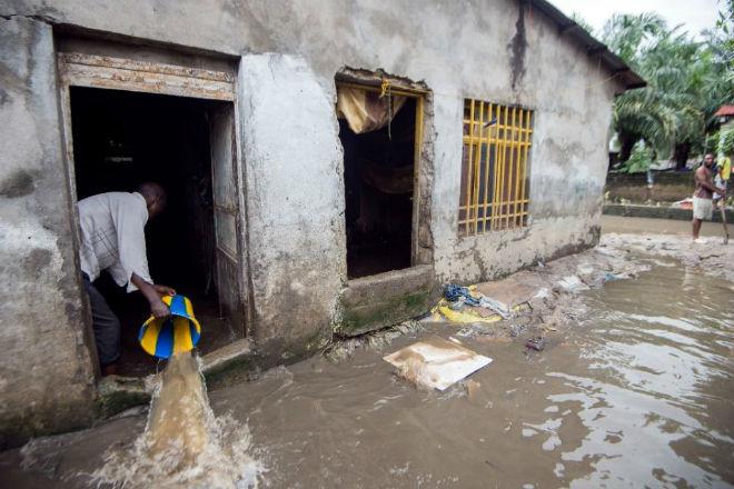 Наводнение в Конго 10 декабря 2015