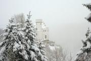 Снегопады в Болгарии 17 января 2016